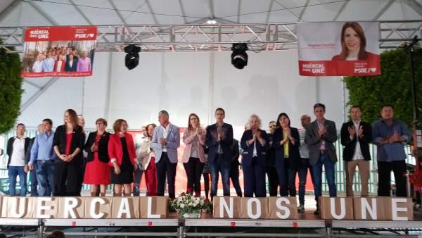 Nota Psoe. 28A. Acto Huércal De Almería