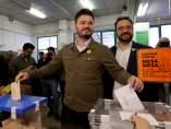 El candidato de ERC al Congreso Gabriel Rufián.