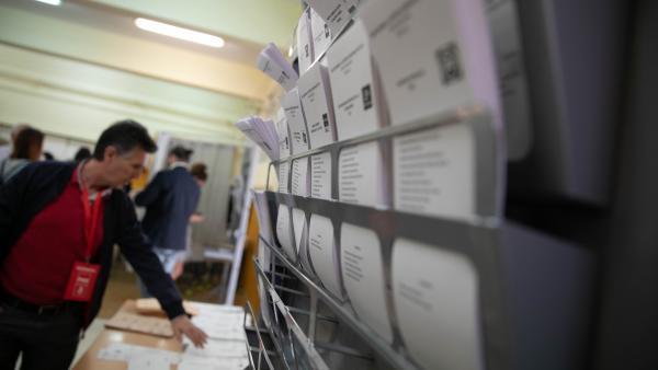 Participación en las elecciones 28-A.