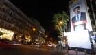 Silencio y desolación en la sede del PP en Madrid