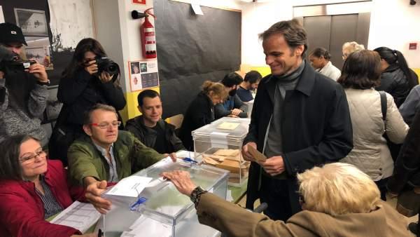 28A.- Asens (ECP) cree que se confirmará 'la remontada que indicaban las encuestas'