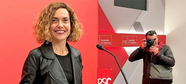 28A.- Batet (PSC): 'Hemos ganado las elecciones. Pedro Sánchez volverá a ser presidente'