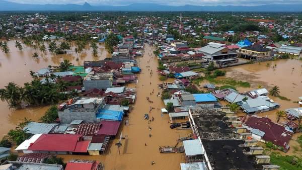 Inundaciones en Bengkulu