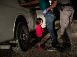 """Crying Girl on the Border"", premio World Press Photo del Año."