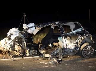 Accidente mortal de tráfico en Salamanca