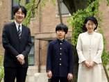 El príncipe Hisahito de Japón