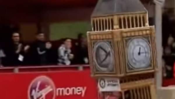 Big Ben corriendo la maratón de Londres