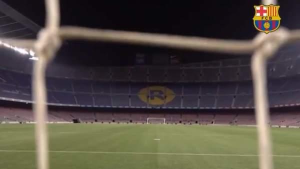 0eb017f0050 Klopp dice que el Camp Nou no es un templo y el Barça responde con un vídeo  épico