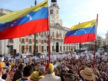 Venezolanos en Sol