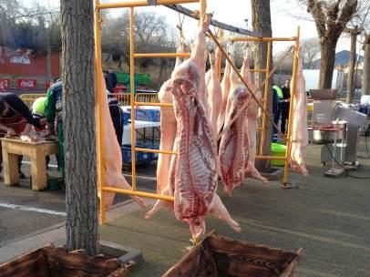 Matanza de un cerdo