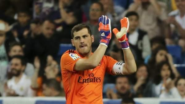 Iker Casillas, en su etapa como jugador del Real Madrid.