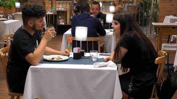 Eloy y Marina, en 'First dates'.