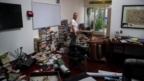Allanamiento de la casa de Leopoldo López