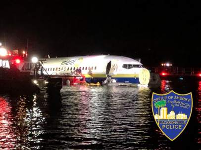Accidente de avión en Jacksonville