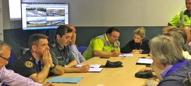 Cádiz.- El 112 atiende 73 incidencias durante las primeras horas del Plan Gran Premio de Jerez