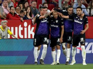 El Leganés gana en Sevilla