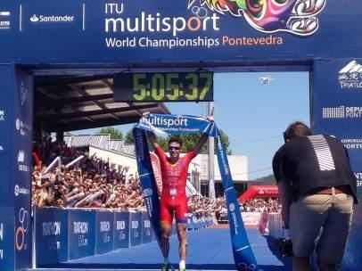 Gómez Noya campeón del mundo