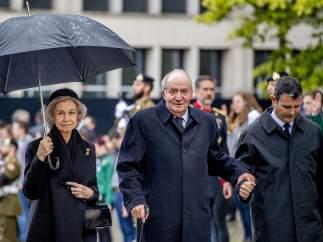 Reina Sofía y rey Juan Carlos I