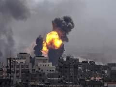 Bombas sobre Gaza
