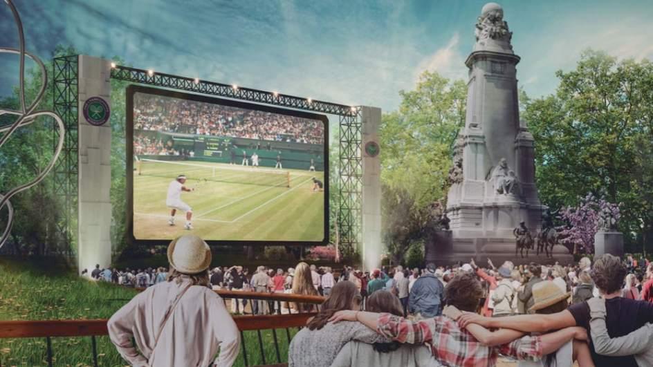 Mayor uso público. Uno de los objetivos de las obras de la plaza de España de Madrid es dotar de un mayor uso público y por parte de la ciudadanía de sus espacios.