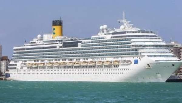 Crucero en el puerto de Cádiz
