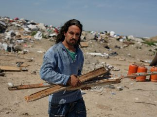 Pablo Iglesias, habitante de un poblado chabolista