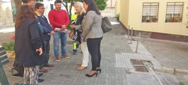 Np Y Foto Colombo Alumbrado Plaza Del Rosario Algeciras
