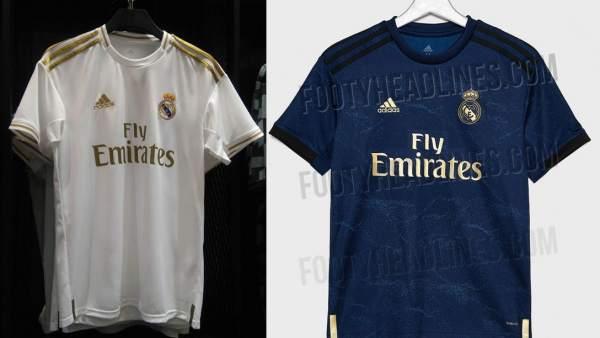 27d5b226b0 Filtradas las camisetas del Real Madrid para la temporada 2019-20: vuelve el  blanco y dorado de la época Mourinho