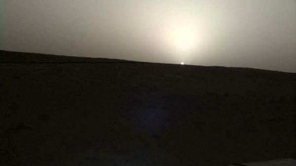 Atardecer Marte