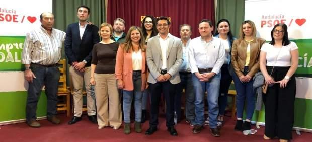 Cádiz.- 26M.- PSOE presenta a Miguel Carrero en Puerto Serrano tras haber logrado normalizar las arcas del Ayuntamiento