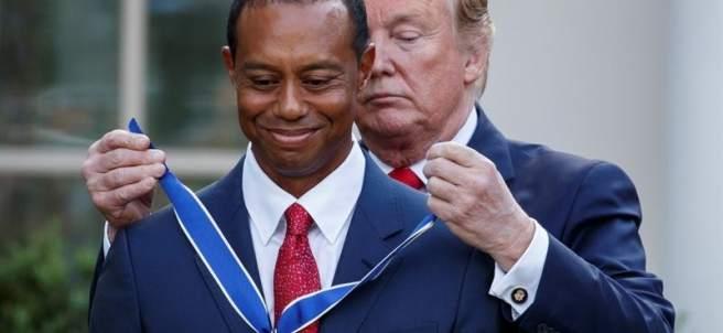Medalla de la Libertad a Tiger Woods