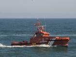 Un barco de Salvamento Marítimo.