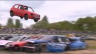 Una temeraria prueba de coches voladores en Inglaterra