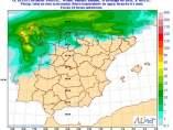 Un frente cruzará CyL mañana y dejará precipitaciones generalizadas y débiles además de viento