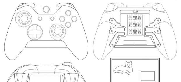 Mando de Xbox One para ciegos