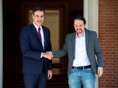 Sánchez recibe a Iglesias