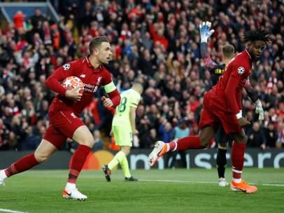 Gol del Liverpool al Barça