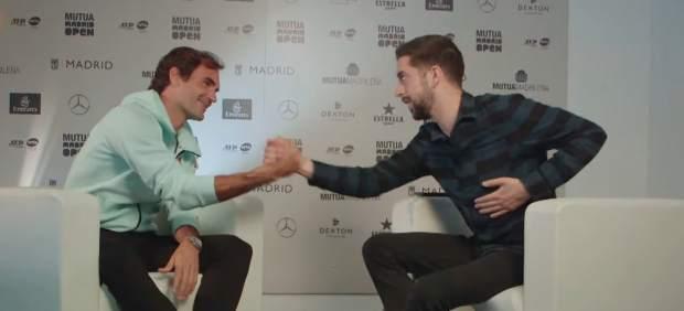 Federer, entrevistado por Broncano