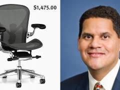 La nueva silla del ex jefe de Nintendo América