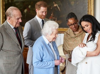 Archie Harrison, el nombre de 'Baby Sussex'