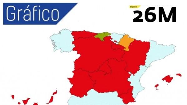 Resultado de imagen de El PSOE ganaría en casi todas las autonomías y arrebataría Madrid al PP, según el CIS