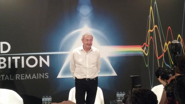 Nick Mason presenta en Madrid 'The Pink Floyd Exhibition':