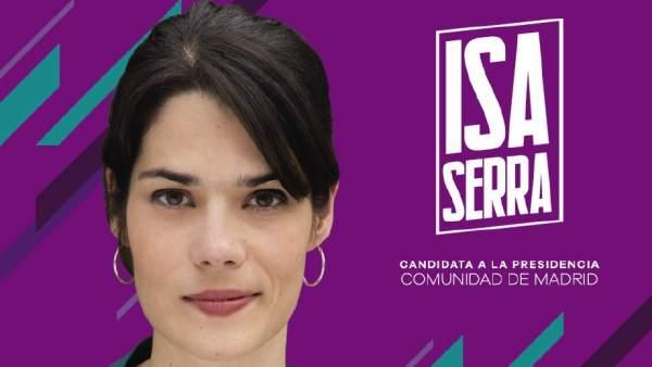 Cartel Isabel Serra