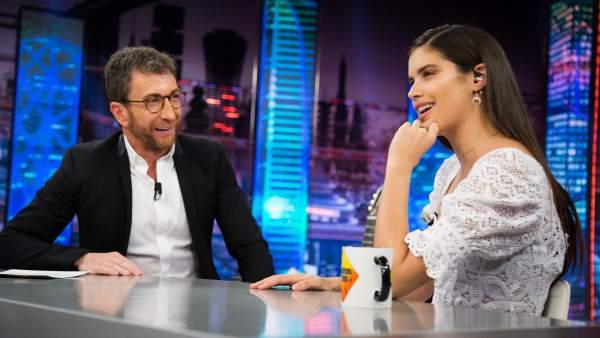 Sara Sampaio, en 'El hormiguero'.