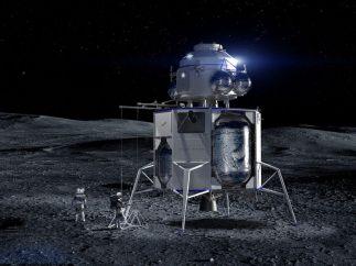 Así es la 'Blue Moon', la nave con la que Jeff Bezos quiere llegar a la Luna