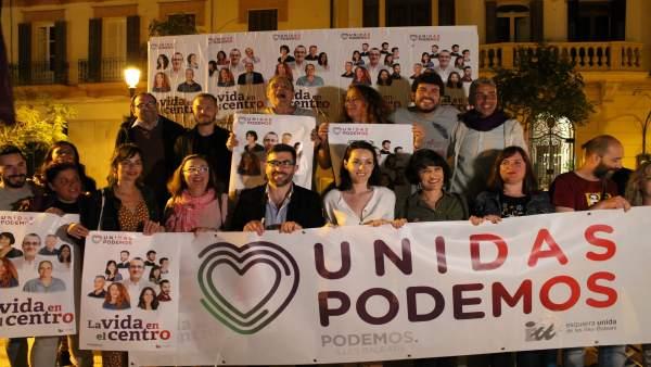 Unidas Podemos en Ibiza anima a los ciudadanos a participar en unas elecciones 'de gran importancia'