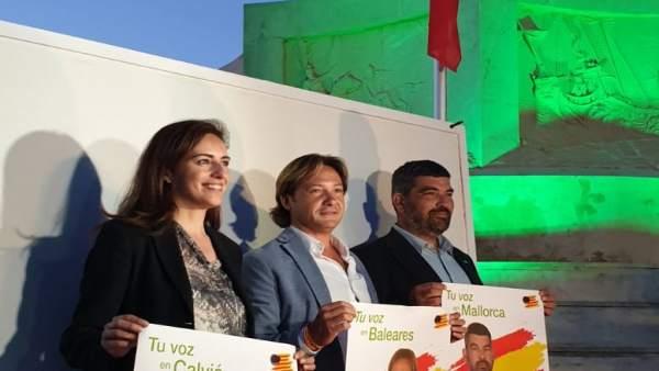 26M.- Jorge Campos Promete 'Frenar El Pancatalanismo Y Recuperar La Libertad Para Baleares'