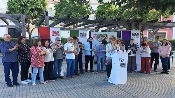 Jaén.- 26M.- Jaén, Sentido y Común llama a la movilización de los barrios para acabar con las 'políticas de castigo'