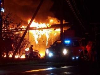 Un incendio paraliza un rodaje de la HBO