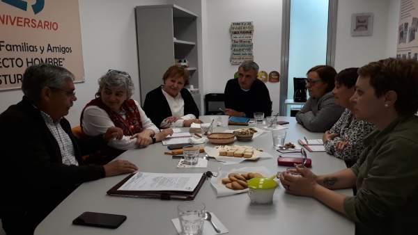 AMPL.- Moriyón, tras la firma del Plan de Vías: 'Este proyecto no tiene marcha atrás'